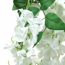 Garland Wisteria White 175cm 2st