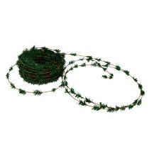Cedar garland mini green med tråd 27m