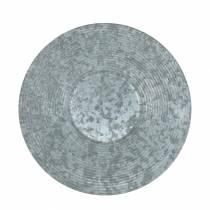 Dekorativ platta zinkplatta Ø35cm