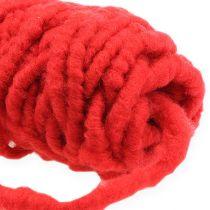 Filtkabelfleece Mirabell 25m röd