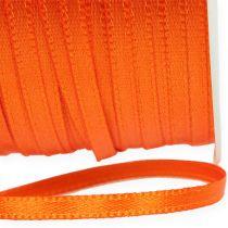 Present- och dekorationband 3mm 50m orange