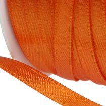 Present- och dekorationband 6mm x 50m orange