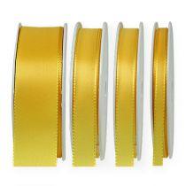 Present- och dekorationsband 50m gult
