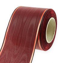 Kransband Bordeaux 7,5cm 25m