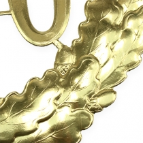 Jubileum nummer 70 i guld Ø40cm