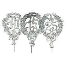 Jubileumsnummer silver