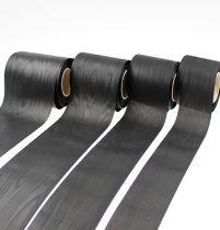 Kransband svart vers. Bredd 25m