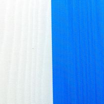 Kransband moiré blåvit