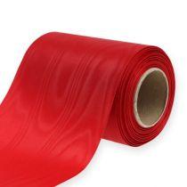 Kransband rött 125mm 25m