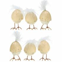 Kyckling i äggskalviten, kräm 6cm 6st