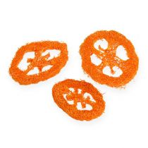 Loofah skivor orange 25st