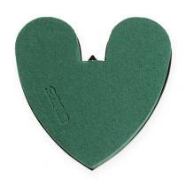 OASIS® hjärta med botten 17cm 4st