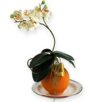 Blommor skum bollar orange 9cm 4st