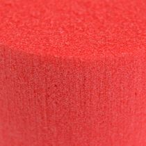 Cylinder Ø8cm röd 6st