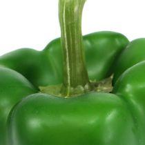 Dekorativ paprikagrön 9cm