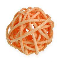 Rottingboll orange, aprikos, blekt 72st