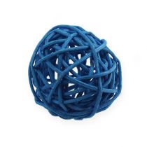 Rottingboll ljusblå, blå, mörkblå 30st.
