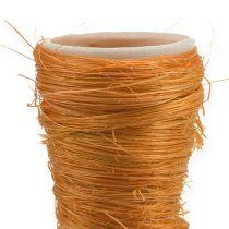 Spetsig vas Sisal Orange Ø4,5cm L60cm 5st