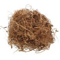 Dekorativ fiber Tamarindfiber naturligt hantverksmaterial naturfiber 500g