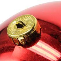 Julkula plast stor röd Ø25cm