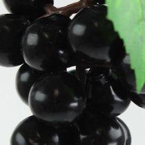 Konstgjorda minidruvor svart 9cm