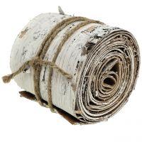 Björkbarkrulle vit tvättad 10 cm x 2,5 m