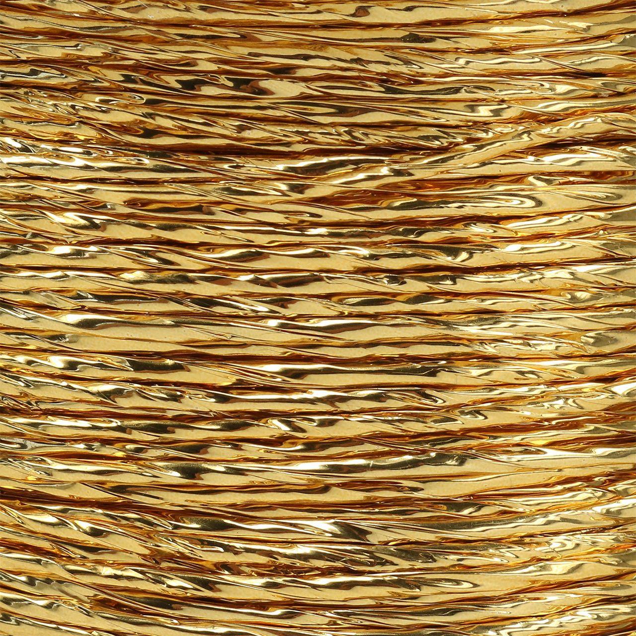 Tråd insvept i guld Ø2mm 100m