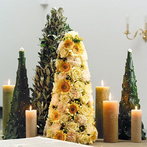 Blommaskum i konform H50cm Ø15cm 2st
