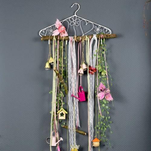 Dekorativ hängare med krokar Vintage 40cmx23cm