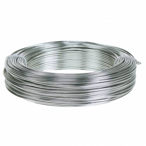 Aluminiumtråd 2mm 1kg silver