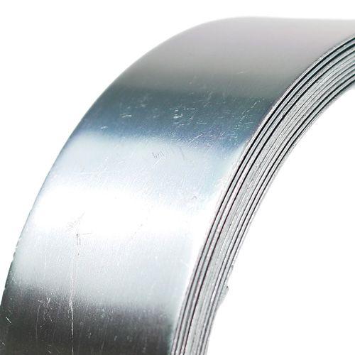 Aluminiumtråd platt tråd silver 30mm 3m