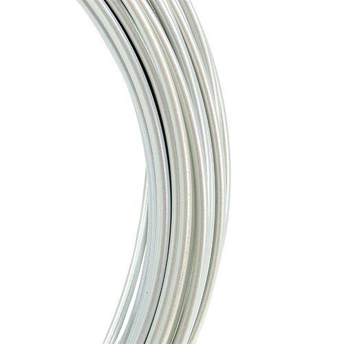 Aluminiumtråd 2mm 100g grädde