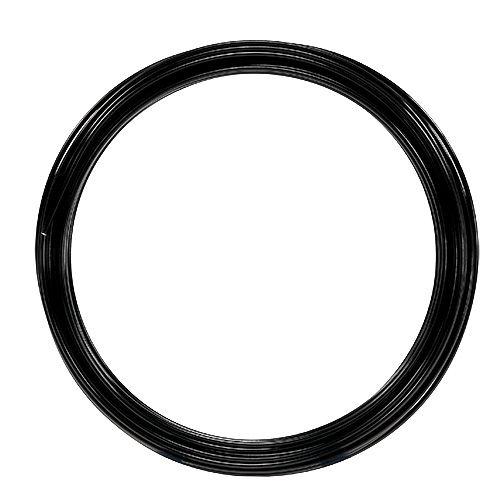 Aluminiumtråd 2mm 100g svart
