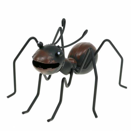 Myrmetallbrun, svart 14,5 cm