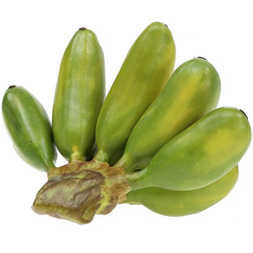 Baby banan flerårig konstgjord grön 13cm