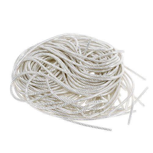 Bouillontråd Ø2mm 100g silver