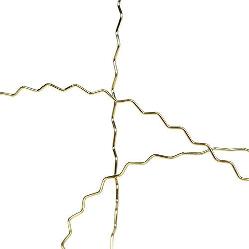 Bouillon effekt tråd 100g guld
