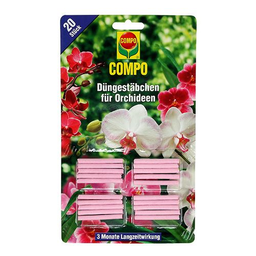 COMPO gödselstänger för orkidéer 20st