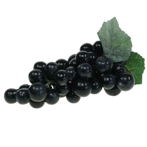 Dekorativa druvor svart 18cm