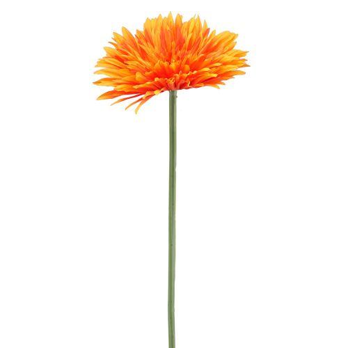Dekorativ Gerbera Orange Ø15cm L88cm