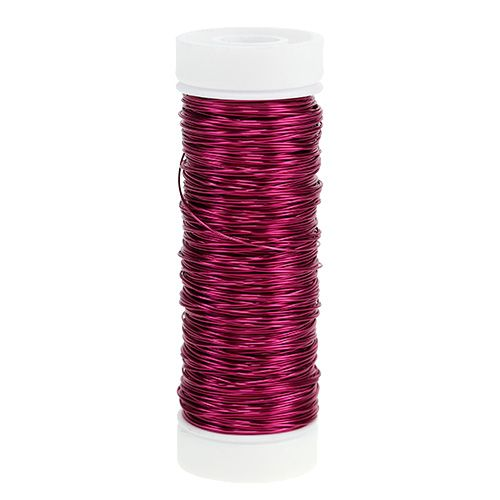 Dekorativ lacktråd Ø0.30mm 30g / 50m rosa