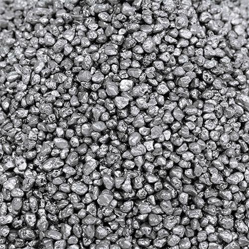 Dekorativt granulat silver 2 mm - 3 mm 2 kg