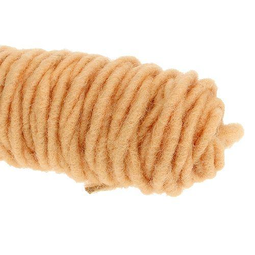 Wicktråd 55m aprikos