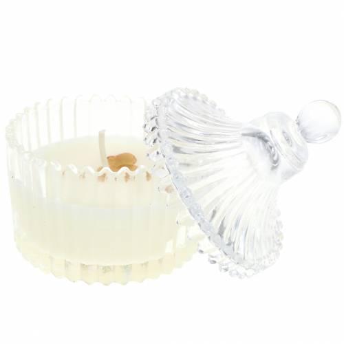 """Doftljus """"Festlig frukt och vanilj"""" Ø6,5cm H9cm"""
