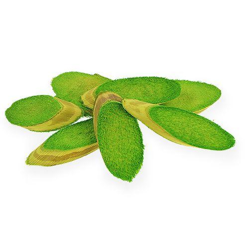 Dekorativa träskivor vårgrön 300g