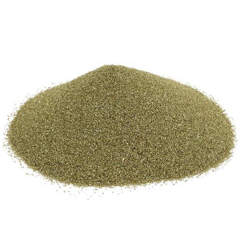 Färg sand 0,5 mm gult guld 2 kg
