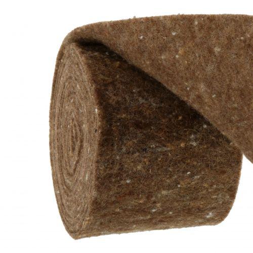 Filtband, kottbandbrunt 15 cm 5m