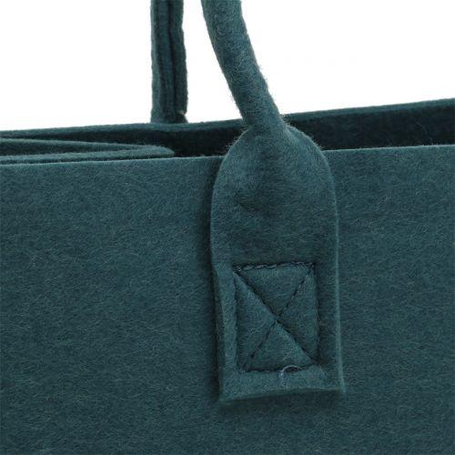 Filtväska blågrå 40cm x 20cm x 25cm