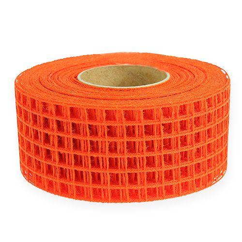 Rasterband 4,5 cm x 10 m orange