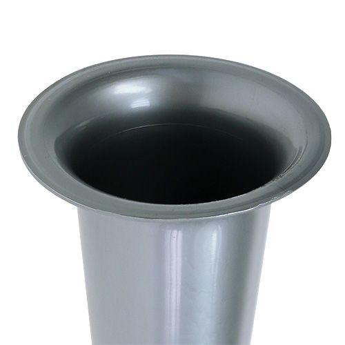 Gravvas silver 28,5 cm